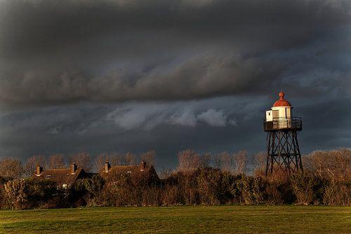 Vuurtoren uitkijktoren Hoek van Holland van