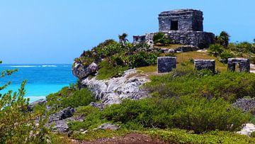 Maya Ruine von Tulum von Marek Bednarek