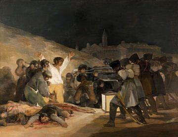 Die Erschießung der Aufständischen, Francisco de Goya