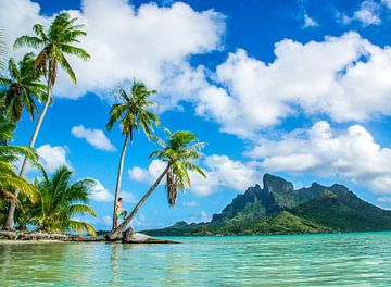 Cast Away op Bora Bora van Ralf van de Veerdonk