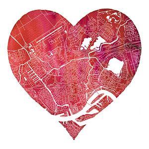 Rotterdam Noord zit in mijn hart   Stadskaart