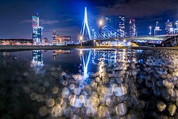Erasmusbrücke von Rotterdam von Martijn van der Nat