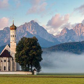 Kirche St. Coloman bei Schwangau von Deimel Fotografie