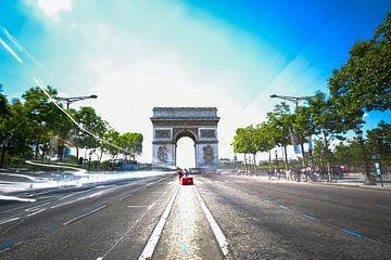 Champs-Elysées van