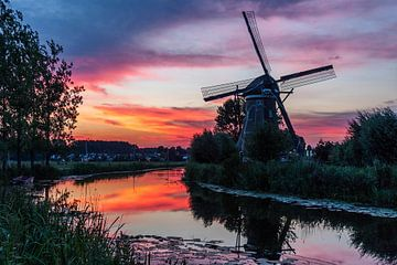 Stille zonsondergang van Stephan Neven