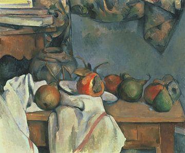 Paul Cézanne - Ginger Pot mit Granatapfel und Birnen