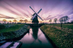 Krimstermolen, Groningen (Noordwolde, Zuidwolde) von Harmen van der Vaart
