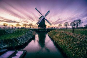 Krimstermolen, Groningen (Noordwolde, Zuidwolde) van Harmen van der Vaart