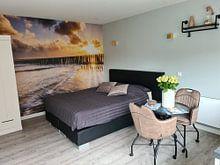 Klantfoto: Stripes van Jan Koppelaar, als behang