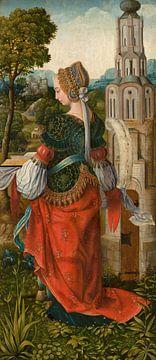 Heilige Barbara, Meisterin von Frankfurt
