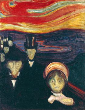 Edvard Munch.Angst