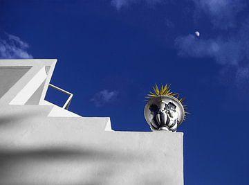 Nerja Daylight Moon van Yannik Art