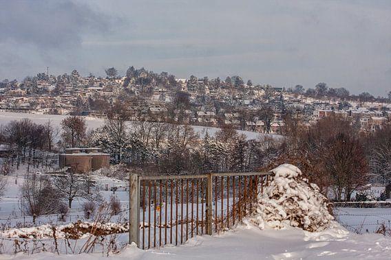 De Huls bij Simpelveld in de sneeuw