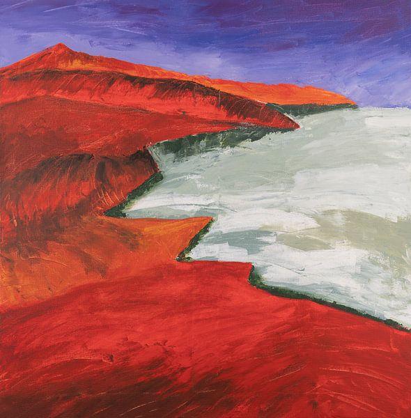 de Kreta kust van Ivonne Sommer