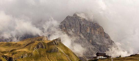 Berg fotografie Passo Rolo Italie