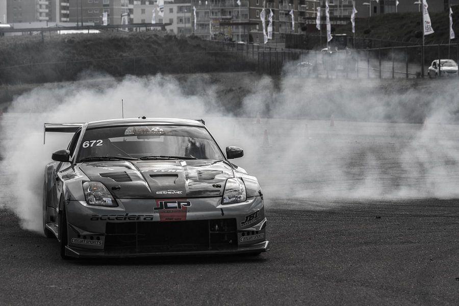 Nissan 350Z in drift