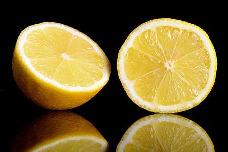 Frischen gelben Zitrone