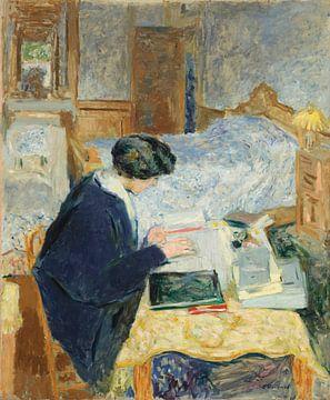 Lucy Hessel Reading, Édouard Vuillard