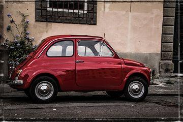 Fiat 500 van Lyonne Verweij