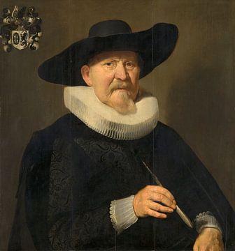 Porträt eines Mannes (wahrscheinlich Hans van Hogendorp), Thomas de Keyser