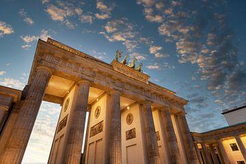 Brandenburger Tor zum Sonnenuntergang von Tilo Grellmann | Photography
