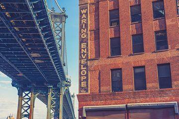De bruggen in Dumbo New York 09 van FotoDennis.com