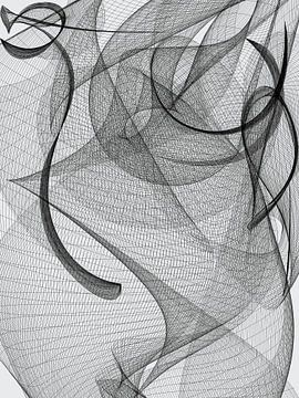 Mural Art Serie Geometria #103 van Dietmar Meinhardt