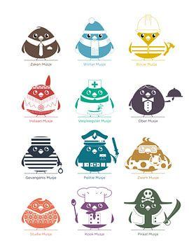 Beter 12 mussen in de hand... van Gilmar Pattipeilohy