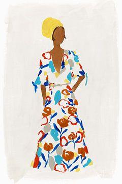 Blumenmode II, Isabelle Z  von PI Creative Art
