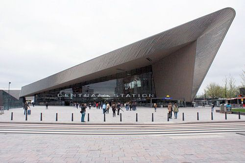 Centraal station Rotterdam von Paul Hinskens