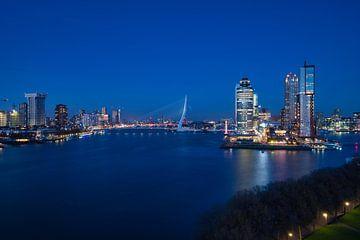 Rotterdam de nuit sur Arjen Heijjer
