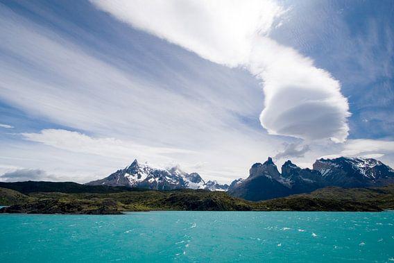 Torres del Paine, Patagonie van Gerard Burgstede