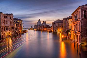Venise - Grand Canal - Basilique de Santa Maria della Salute sur Teun Ruijters