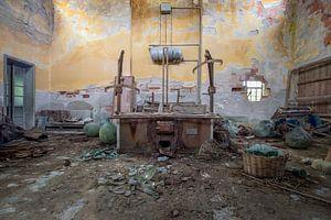 verlassene Werkstatt