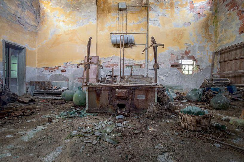 verlassene Werkstatt von Kristof Ven