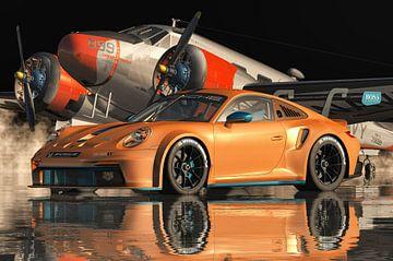 Porsche 911GT 3 RS Cup 2021 von Jan Keteleer