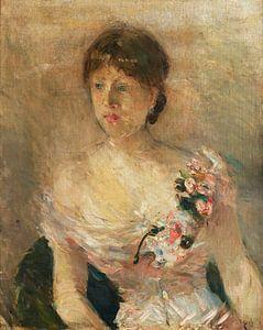 Bildnis einer Dame, Berthe Morisot