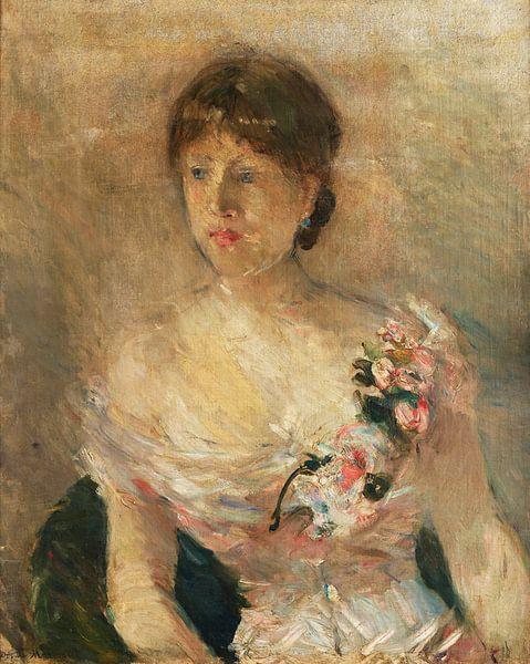 Bildnis einer Dame, Berthe Morisot von Meesterlijcke Meesters