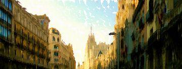 Madrid van Frans Jonker