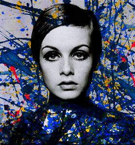 Miss Twiggy - Extreme Splash - Pollock Style  van