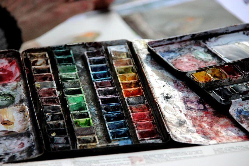 The artist's tools van Anne Seltmann