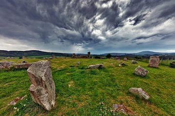 Steinkreis in Schottland von Jürgen Wiesler
