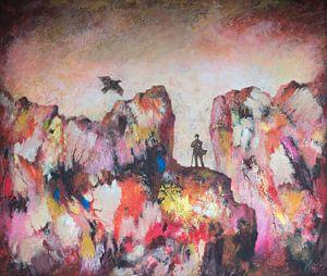 De herder en de vogel van Galerie Ringoot