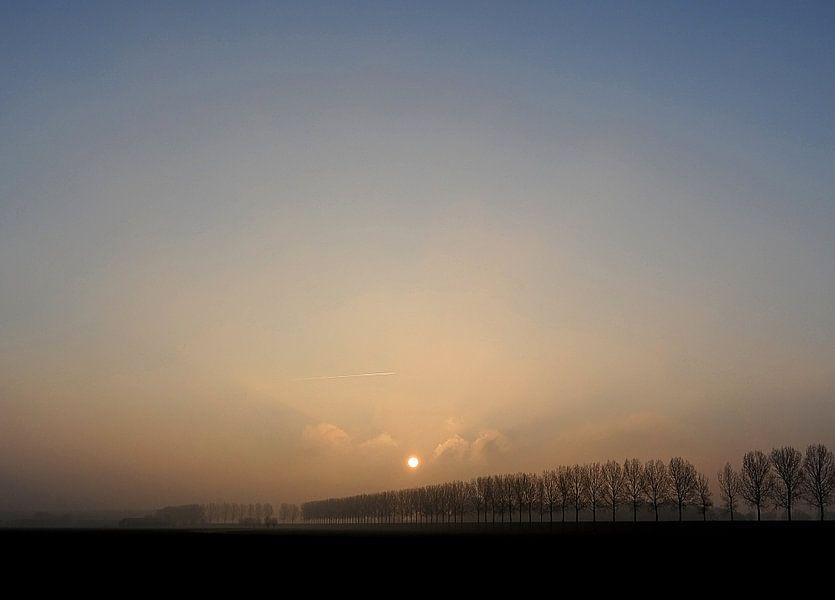 Een hele koude ochtend