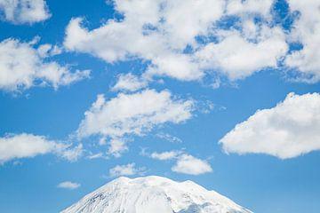 Cratère du mont Yotei à Hokkaido, Japon sur