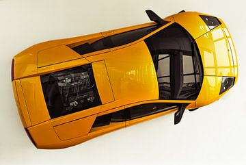 Lamborghini aan de muur.nl van Gert Tijink