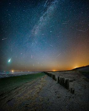 Perseïden meteoren regen van Nando Harmsen