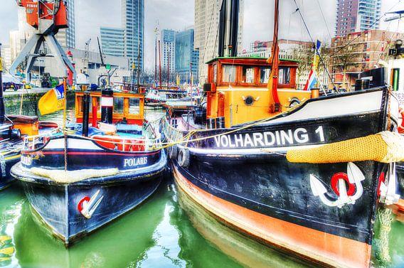 Volharding 1, Leuvehaven, Rotterdam van Fotografie Arthur van Leeuwen