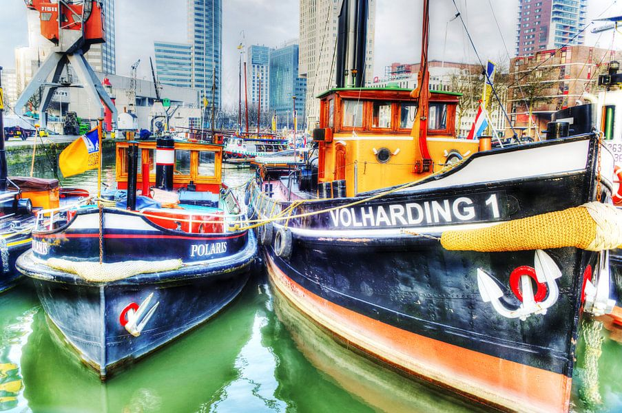 Volharding 1, Leuvehaven, Rotterdam