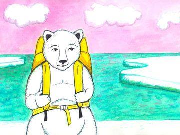 IJsbeer gaat op reis van Karolina Grenczyk
